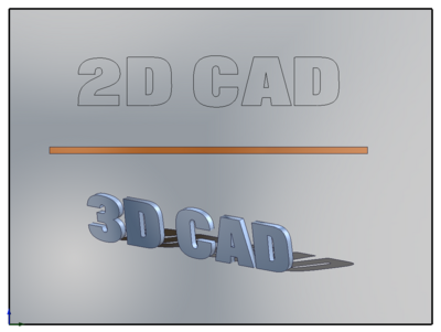 Titelbild CAD Software