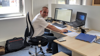 Our new employee: Michael Eikermann